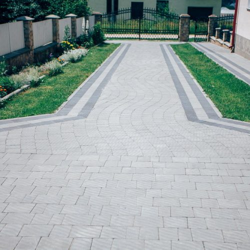 interlockin pavers